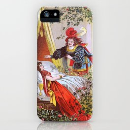 The Sleeping Beauty In The Woods - Digital Remastered Edition iPhone Case