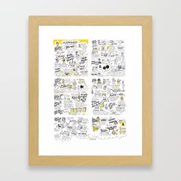 play make 2013 Framed Art Print