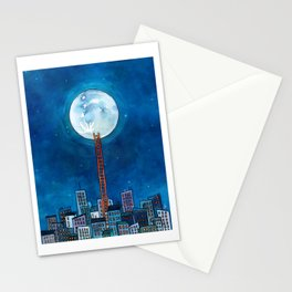 Up there Stationery Cards