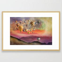 One Last Traveller To Go! Framed Art Print