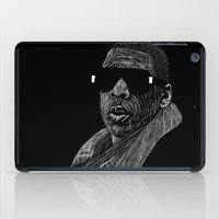 jay z iPad Cases featuring Jay-Z by William