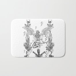 The Other Side (Grey) Bath Mat