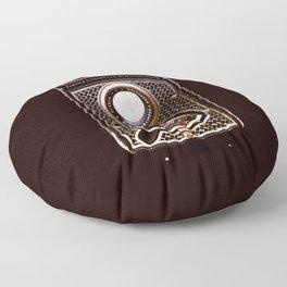 Rolleicord art deco Floor Pillow