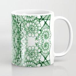 Jade Zentangle Tile Doodle Design Coffee Mug