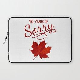 150 Years of Sorry Laptop Sleeve