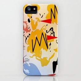 Attack of the killer bees iPhone Case