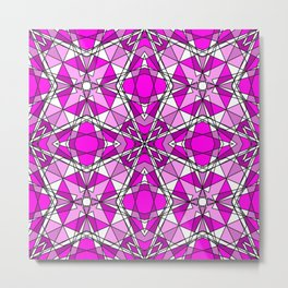 Pink Tourmaline Metal Print