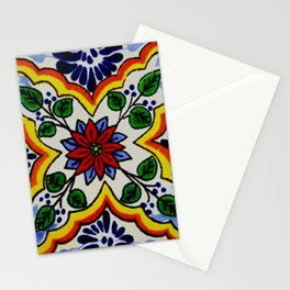 talaveramexican tile Stationery Cards