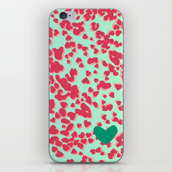 Animal Print Pink iPhone & iPod Skin