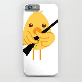 Hunting Season Chick iPhone Case