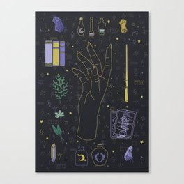 Divination Witch Starter Kit III Canvas Print