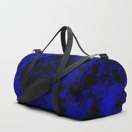paint splatter on gradient pattern db Duffle Bag