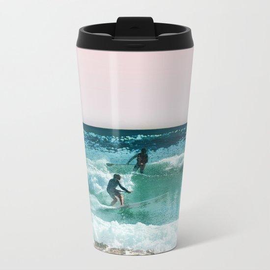 Surfing USA Metal Travel Mug