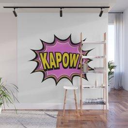 KAPOW! Comic Book Wall Mural