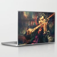 x files Laptop & iPad Skins featuring Virtuoso by Alice X. Zhang
