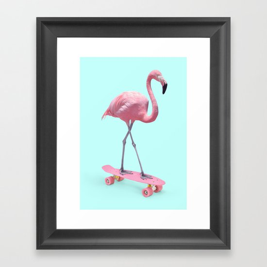 SKATE FLAMINGO by paulfuentes