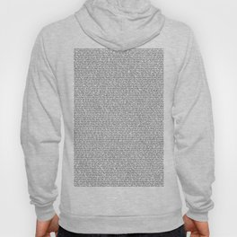 The entire bee movie script in comic sans best selling product Hoody