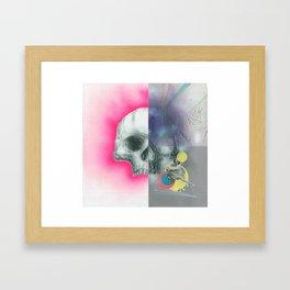 fourartist'sskull Framed Art Print