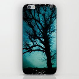 black tree iPhone Skin