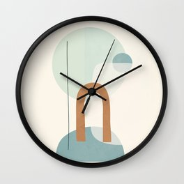 Azzurro Shapes No.55 Wall Clock