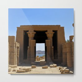 Temple of The Goddess Metal Print