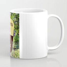 Trail of 100 Giants Vintage National Forest Sign Coffee Mug