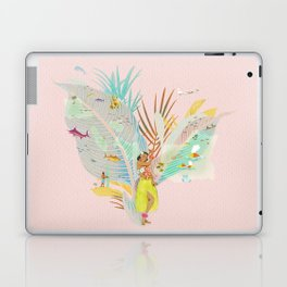 Aloha, Hawaii (Pink) Laptop & iPad Skin