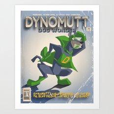DYNOMUTT Art Print