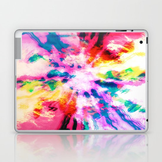 Screaming Clouds Laptop & iPad Skin