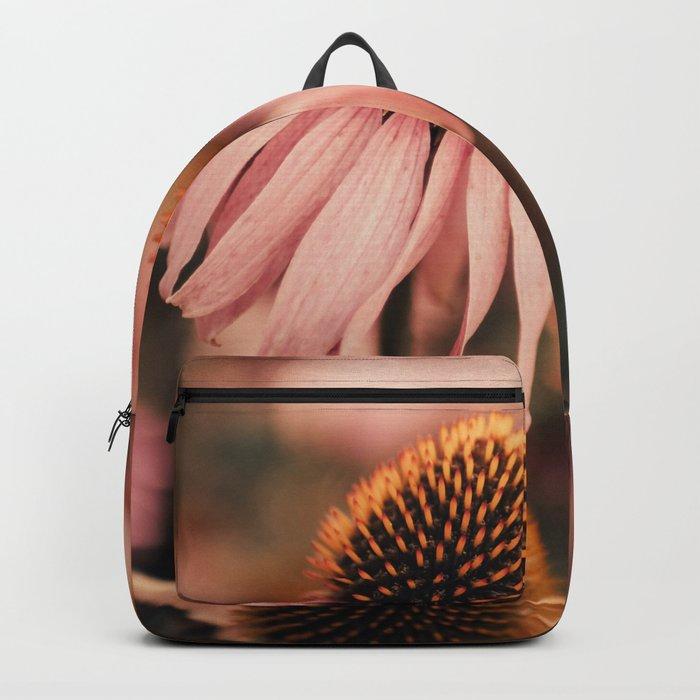 echinacea flowers Backpack
