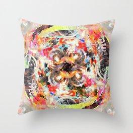 Gearing Throw Pillow