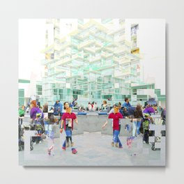 a consequent capacity to imagine cooperation means Metal Print