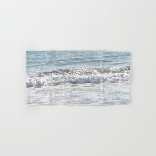 TEXTURES -- Surf   at San Clemente Hand & Bath Towel