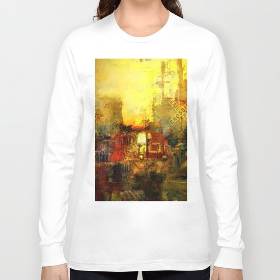 The trein from nowhere Long Sleeve T-shirt
