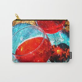 Wine glasses art vs 3 Carry-All Pouch