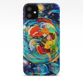 ocean bubble iPhone Case