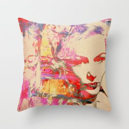 Divas - Veronica Lake Throw Pillow