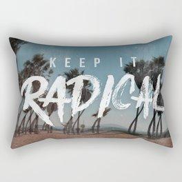 Keep it Radical Rectangular Pillow