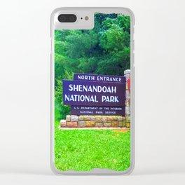 Shenandoah National Park Clear iPhone Case