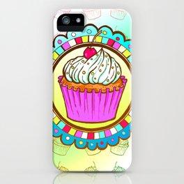 Cup Cake iPhone Case