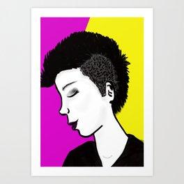 I rock Art Print