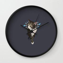 Indian cat Wall Clock