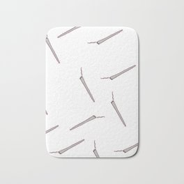 All my Joints white Bath Mat