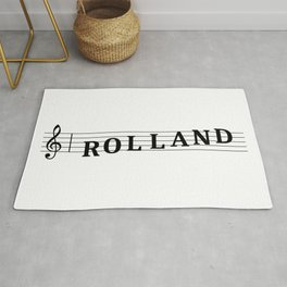 Name Rolland Rug
