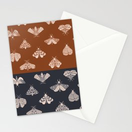 Moths 1 Stationery Cards