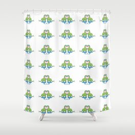 Trans Pride - Dino Love Shower Curtain