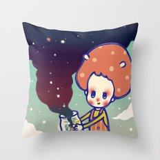 magic little star Throw Pillow