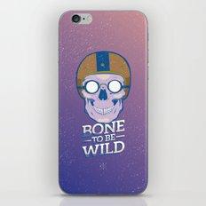 Skullture: Bone to be Wild iPhone & iPod Skin