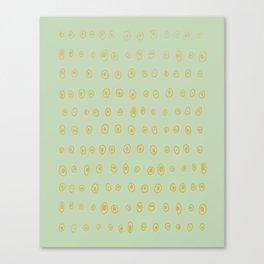 Salt Canvas Print