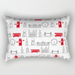 London Calling Rectangular Pillow